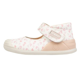 Conguitos Pink Hearts Mary Janes - обувки за прохождане