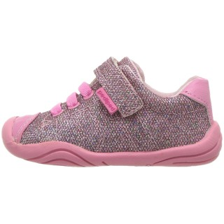 Розови обувки Pediped Jake Pink Sparkle