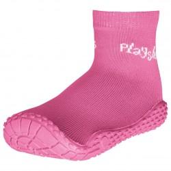 Розови чорапи с гумена подметка