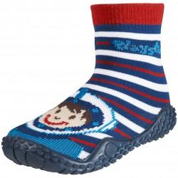 Чорапи с гумена подметка Happy boy