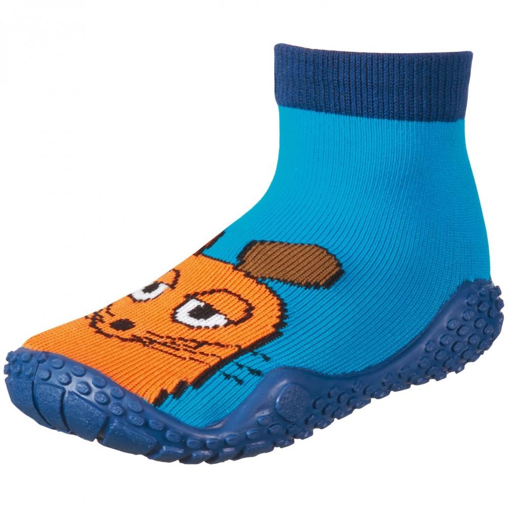 Сини чорапи с гумена подметка Mouse