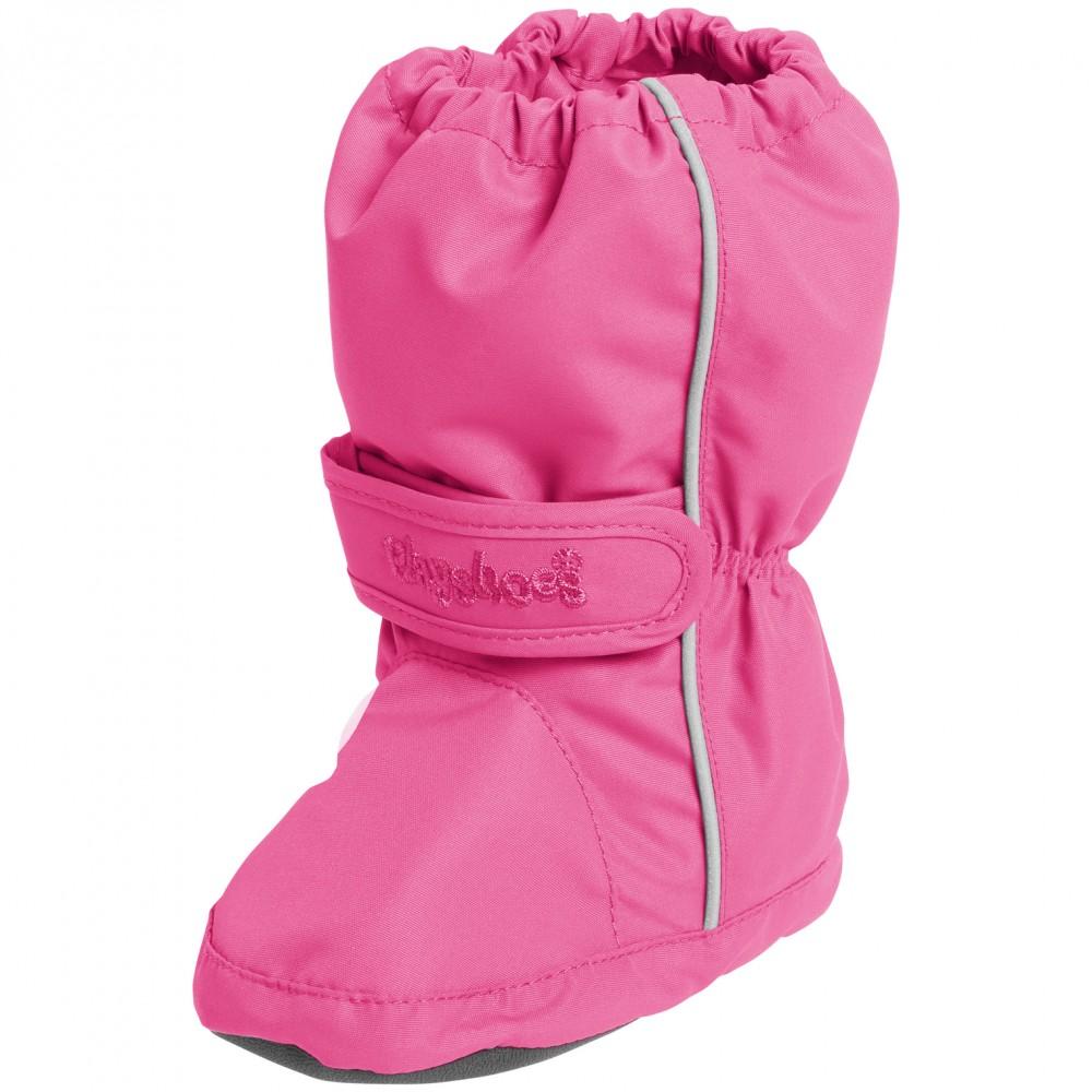 Розови термо-чорапени ботуши