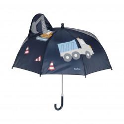 Детски чадър за момчета Construction