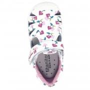 Кожени сандали Titanitos Sally Blanco