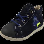 Тъмно сини велурени обувки Pepino by Ricosta Andy