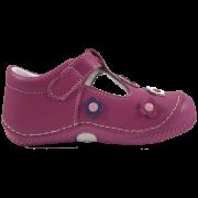 Розови бебешки сандали Pop Flower Fuchsia