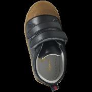Сини кожени обувки Classic Navy Brown